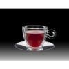 Luigi Bormioli THERMIC GLASS teás csésze+rozsdam.alj, 2 db, 30 cl, 198153