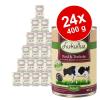 Lukullus gazdaságos csomag 24 x 400 g - Pulykaszív & liba