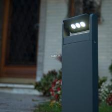 Lutec 6146S-1-526 GR MINI LEDSPOT 9W LED IP65 álló szürke kültéri lámpa kültéri világítás