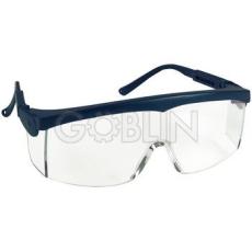 Lux Optical® Pivolux védõszemüveg, kék keret, víztiszta látómezõ, állítható dõlésszög és...