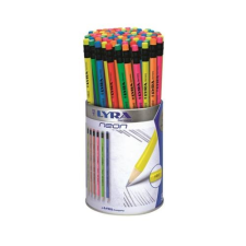 Lyra Grafitceruza LYRA Neon HB hengeres radíros fémhengerben 96 db-os ceruza