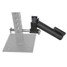"""m-tech (N) John J65-LAND-1 Szimpla """"land-mine"""" core-trainer adapter, 65x65x4 mm, crossfit állvány, funkcionális tréning keret kondigép kiegészítő"""
