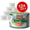 MAC's MAC´s Cat Sensitive gazdaságos csomag 12 x 200 g - Pulyka