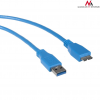 MACLEAN Maclean MCTV-587 Cable USB 3.0 AM microBM cable Plug-in connector 1;5m