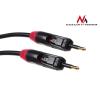 MACLEAN Maclean MCTV-643 Optical Fibre T-T Jack - Jack Twin Plugs Rotational Cable 1m