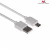 MACLEAN Maclean MCTV-831W USB Cable TYPE C - USB A-USB C 1m AM- AC