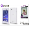Made for Xperia MUVIT Sony Xperia E3 (D2203) hátlap - Made for Xperia Muvit My Frame - white/clear