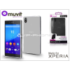 Made for Xperia MUVIT Sony Xperia Z5 (E6653) hátlap - Made for Xperia Muvit miniGel - clear