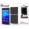 Made for Xperia MUVIT Sony Xperia Z5 (E6653) hátlap - Made for Xperia Muvit Soft Touch - black