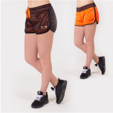 MADISON REVERSIBLE SHORT - BLACK/NEON ORANGE (BLACK/ORANGE) [L]
