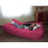 Magenta Komfort babzsák ágy