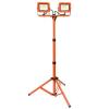 Magg LED fényszóró az állványon 2x30W, 4000K, 4200L, IP44, narancs