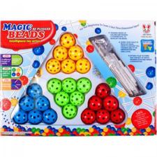 Magic Beads golyós építojáték barkácsolás, építés