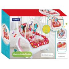 Magic Toys Fitch Baby: 2 az 1-ben babafotel és kisszék hanggal és rezgéssel pihenőszék, bébifotel