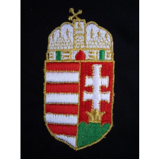 Magyar címer hímzése munkaruha