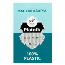 Magyar kártya 32 lapos - műanyag kártyajáték