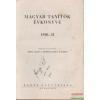 Magyar tanítók évkönyve 1930-31