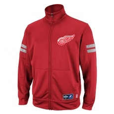 Majestic Detroit Red Wings fĂŠrfi kabát red Goalie Therma Track - XXL