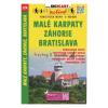 Malé Karpaty, Záhorie, Bratislava / Kis-Kárpátok–Erdőhát-Pozsony turistatérkép/ Shocart