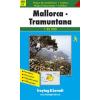 Mallorca és Tramuntana turistatérkép - f&b WKE 1