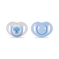 Mamajoo Mamajoo Ortodontikus 2db-os cumi 6h+ - Kék elefánt cumi