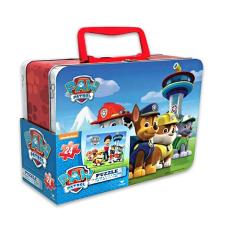 Mancs őrjárat: dupla 3D-s puzzle kis fém kofferban puzzle, kirakós