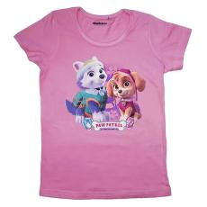 Mancs őrjárat: lányos póló - 92 méret, rózsaszín