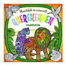 Mandalák és színezők gyerekeknek - Vadállatok kreatív és készségfejlesztő