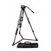 Manfrotto 504HD Videófej + 546GBK Háromlábú állvány