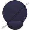 MANHATTAN 434386 Gél csuklótámaszos egérpad Kék