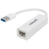 MANHATTAN Ethernet adapter, Gigabites, USB 3.0 csatlakozás, MANHATTAN, fehér