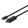 MANHATTAN HDMI-mini DisplayPort kábel, 1,8 m, MANHATTAN