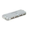 MANHATTAN Hi-Speed USB 2.0 Pocket Hub 4 portos