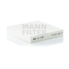 MANN FILTER CU1835 Pollenszűrő FIAT SEDICI, HONDA JAZZ, SUZUKI SWIFT, SX4