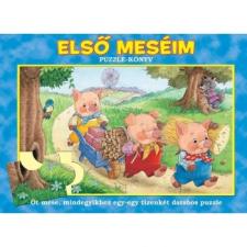 Manó Könyvek ELSŐ MESÉIM - PUZZLE-KÖNYV  (611078) ajándékkönyv