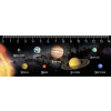 Mapcards.net s.r.o. Mapcards 3D vonalzó 14cm, Naprendszer