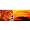 Mapcards.net s.r.o. Mapcards 3D vonalzó 14cm, oroszlán, Kilimanjaro