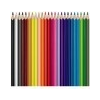 MAPED Akvarell ceruza készlet, háromszögletû, ecsettel, MAPED Color Peps, 24 különbözõ szín