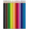 """MAPED Akvarell ceruza készlet, háromszögletű, ecsettel, MAPED """"Color Peps"""", 18 különböző szín (IMA836012)"""