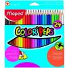 MAPED Color`Peps színes ceruza készlet, 24 különböző szín