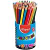 MAPED Color`Peps színes ceruza készlet, háromszögletű, ceruzatartó