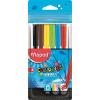 """MAPED Filctoll készlet, 2 mm, kimosható,  """"Color`Peps Ocean"""", 6 különböző szín"""