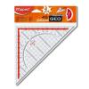 "MAPED Háromszög vonalzó, műanyag, 45°, 26 cm, MAPED ""GeoTechnic"""