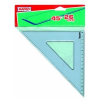 "MAPED Háromszög vonalzó, műanyag, 45°, 26 cm, MAPED ""Graphic"""