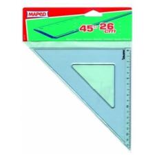 "MAPED Háromszög vonalzó, műanyag, 45°, 26 cm, MAPED ""Graphic"" vonalzó"