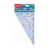 "MAPED Háromszög vonalzó, műanyag, 60°, 26 cm, MAPED ""Gr"