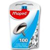MAPED Rajzszeg, 100 db-os, MAPED, nikkel