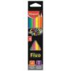 """MAPED Színes ceruza készlet, háromszögletű, MAPED \""""Color`Peps Fluo\"""", 6 különböző szín [6 db]"""
