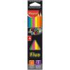 """MAPED Színes ceruza készlet, háromszögletű, MAPED """"Color'Peps Fluo"""", 6 különböző szín (IMA832003)"""