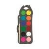 MAPED Vízfesték, 12 szín, 30 mm átm/szín + ajándék ecset, MAPED